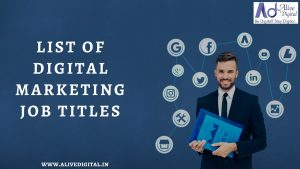 Digital Marketing Job Titles in industry