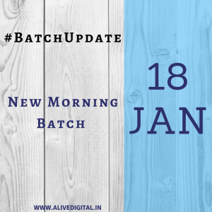 New Batch Update-Alive digital