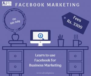 Facebook marketing course in pune