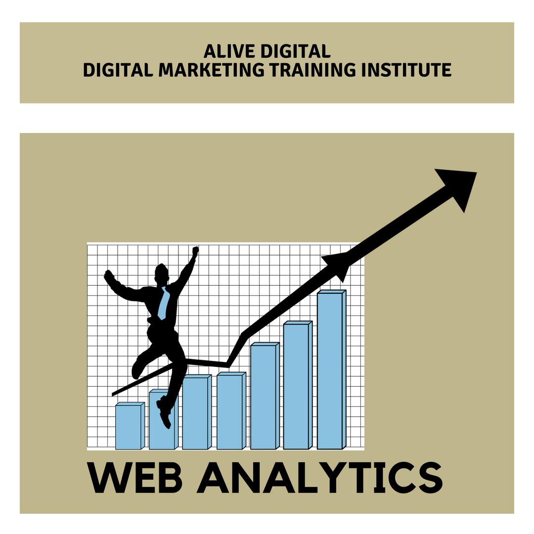 Web Analytics by Alive Digital - Digital Marketing Training Institute