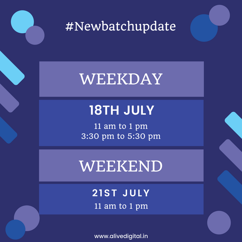 New Batch Update July