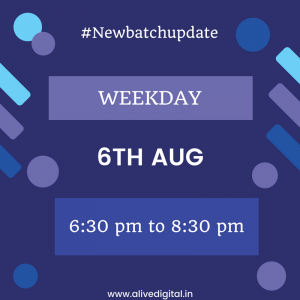 Digital Marketing New Batch Update in pune