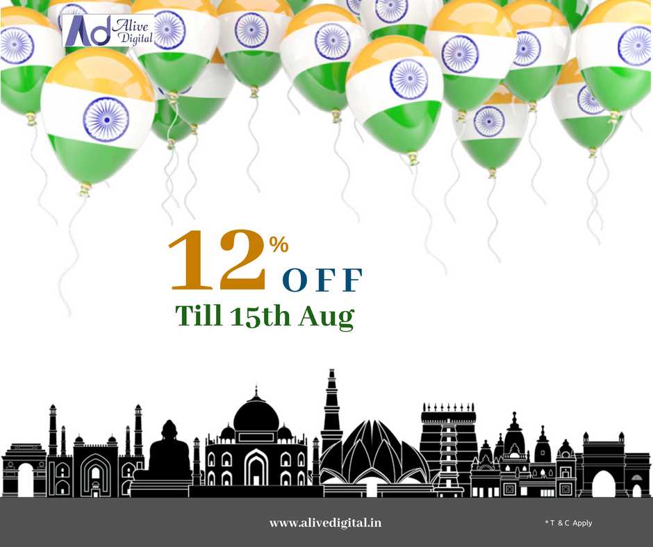 Independence Day Offer! Enroll today