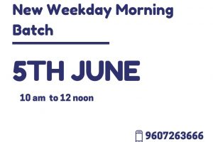 Digital Marketing New Morning Batch Annoncement June 2019
