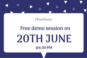 Digital Marketing Demo Session (20th June 2019)