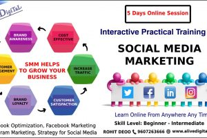 5 days FaceBook Marketing workshop by Alive Digital Digital Marketing Training Institute