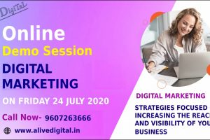 Online Digital Marketing Demo session on 24July2020